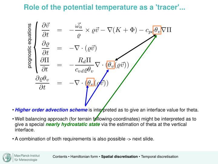 prognostic equations