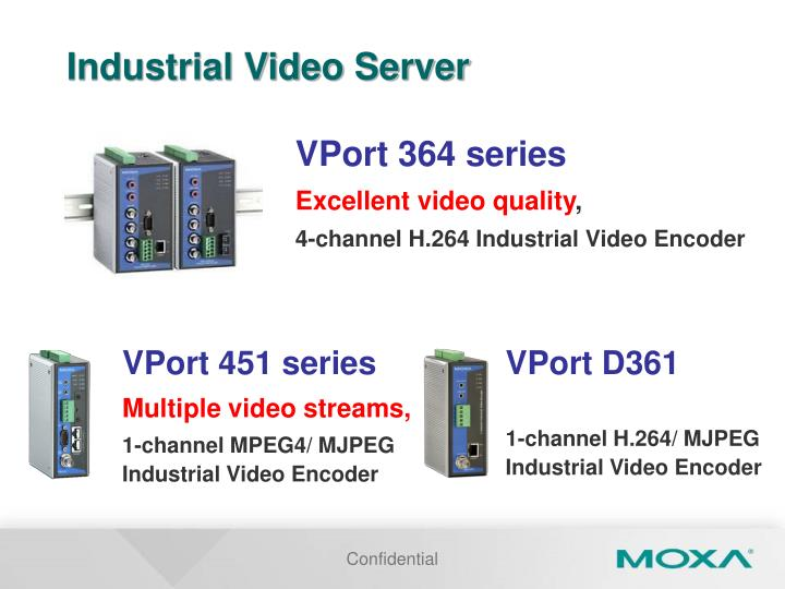 Industrial Video Server
