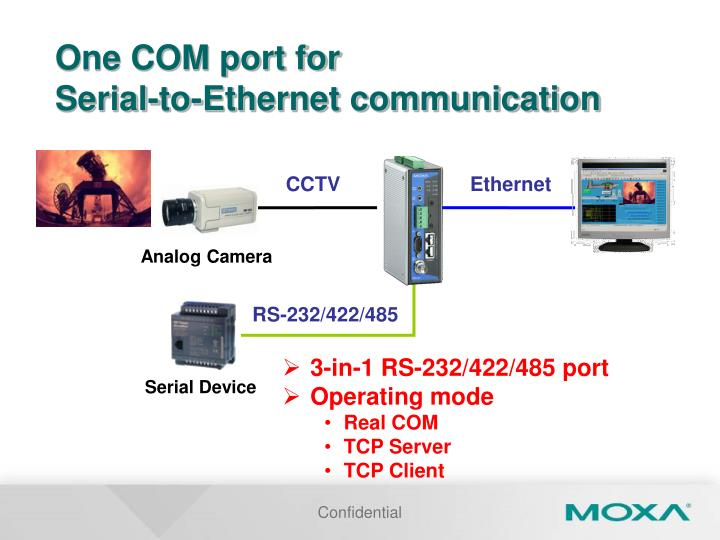 One COM port for