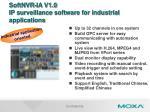 softnvr ia v1 0 ip surveillance software for industrial applications