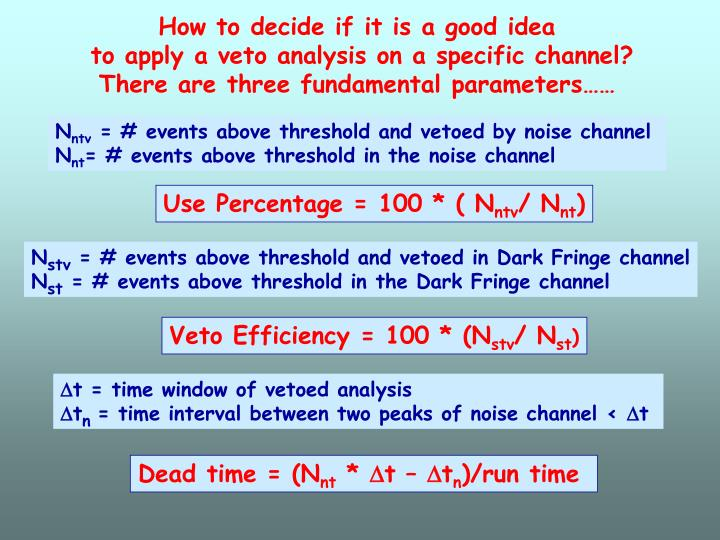How to decide if it is a good idea