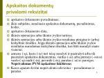 apskaitos dokument privalomi rekvizitai