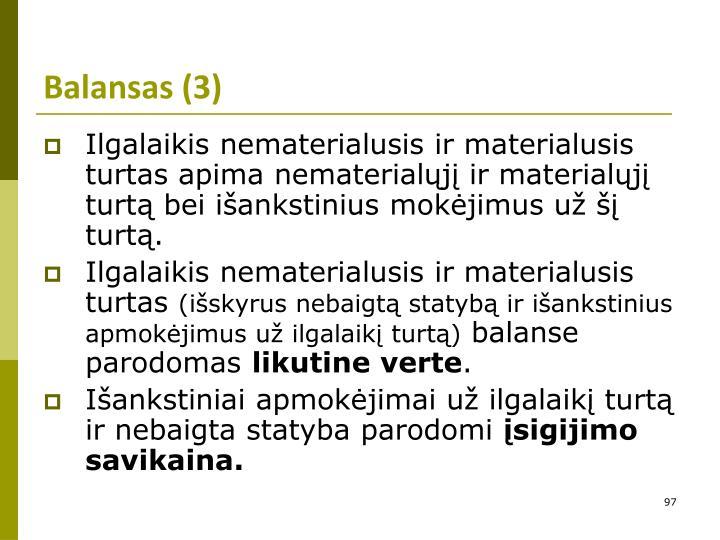 Balansas (3)