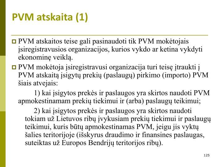 PVM atskaita (1)