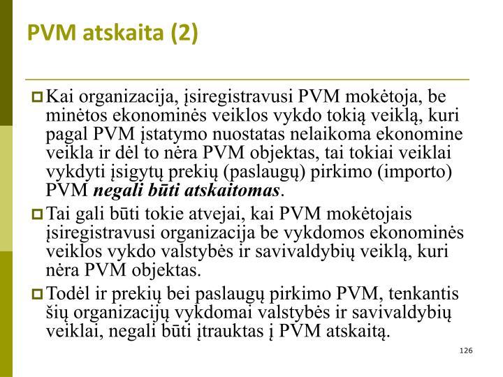PVM atskaita (2)