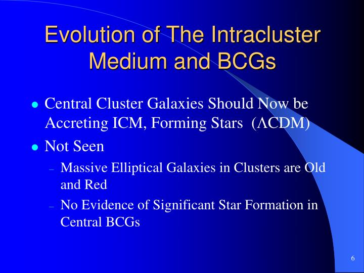 Evolution of The Intracluster Medium and BCGs