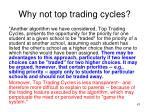 why not top trading cycles