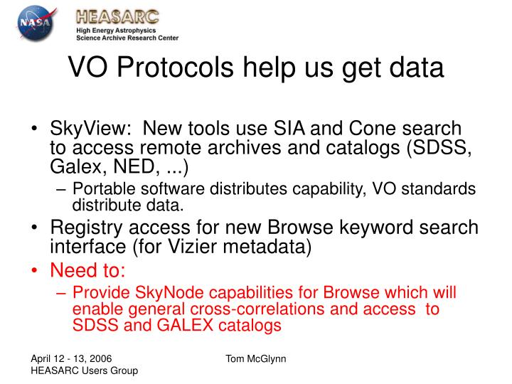 VO Protocols help us get data