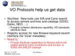 vo protocols help us get data