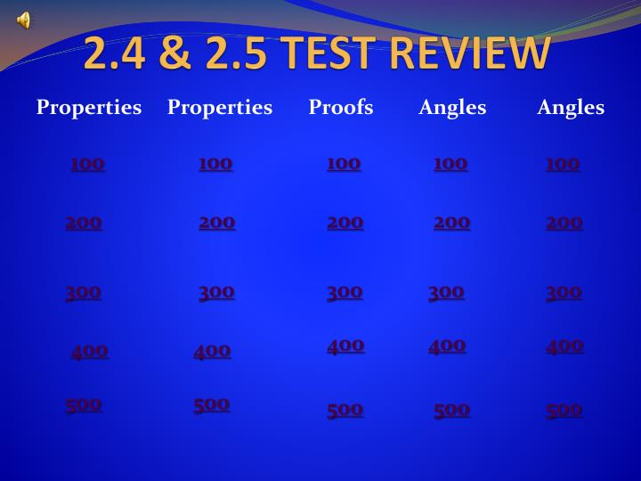 2 4 2 5 test review