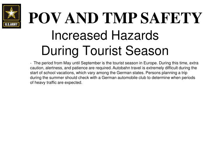 Increased Hazards