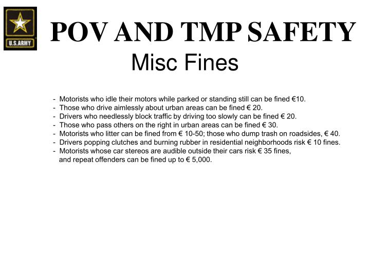 Misc Fines