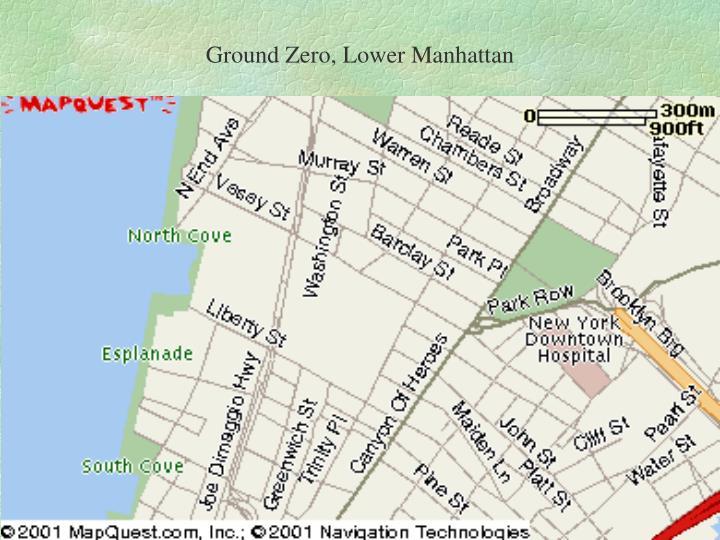 Ground Zero, Lower Manhattan