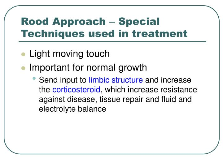 Rood Approach