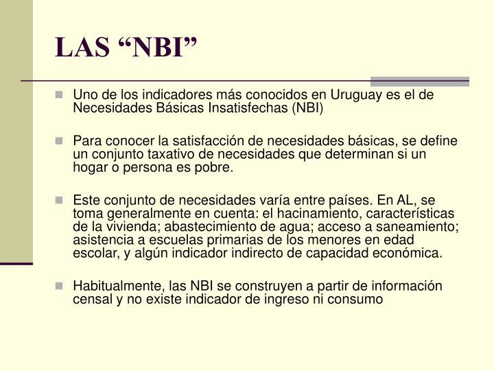 """LAS """"NBI"""""""