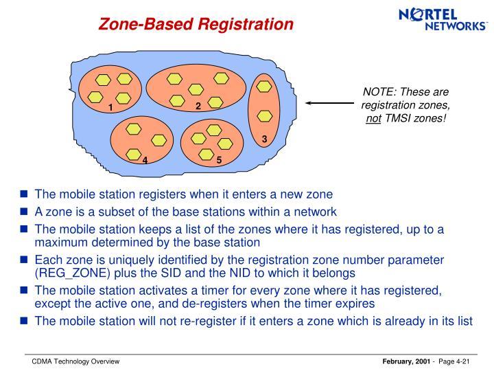Zone-Based Registration