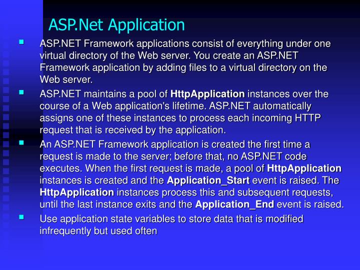 ASP.Net Application