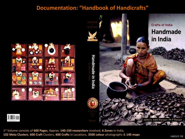 "Documentation: ""Handbook of Handicrafts"""
