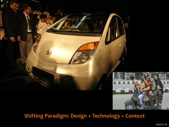 Shifting Paradigm: Design + Technology + Context