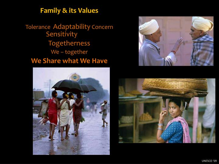 Family & its Values