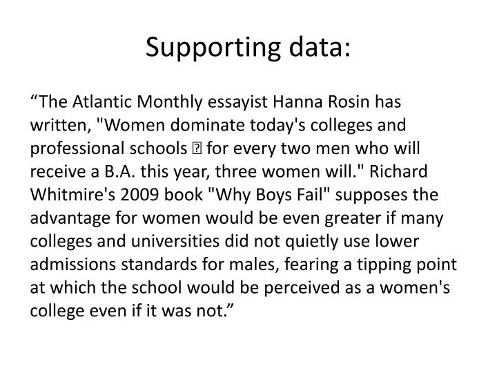 Supporting data: