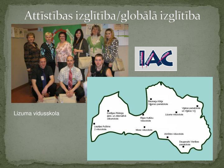 Attīstības izglītība/globālā izglītība
