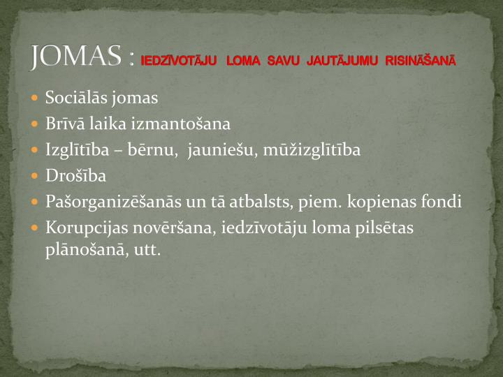 JOMAS :