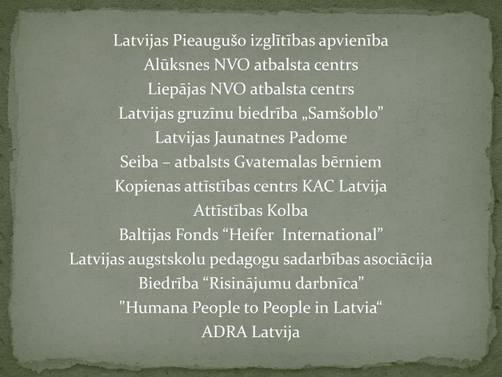 Latvijas Pieaugušo izglītības apvienība