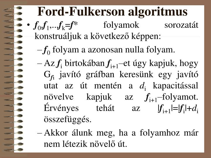 Ford-Fulkerson algoritmus