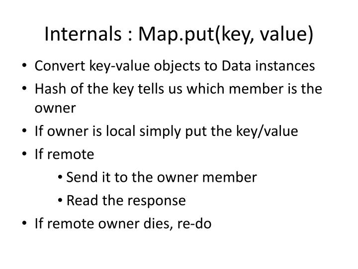 Internals : Map.put(key, value)