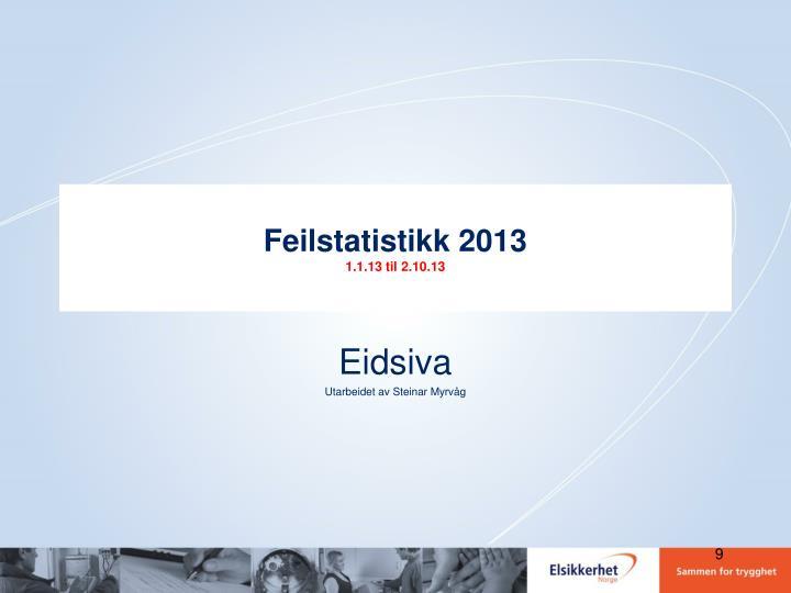 Feilstatistikk 2013