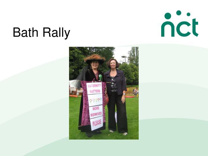 Bath Rally
