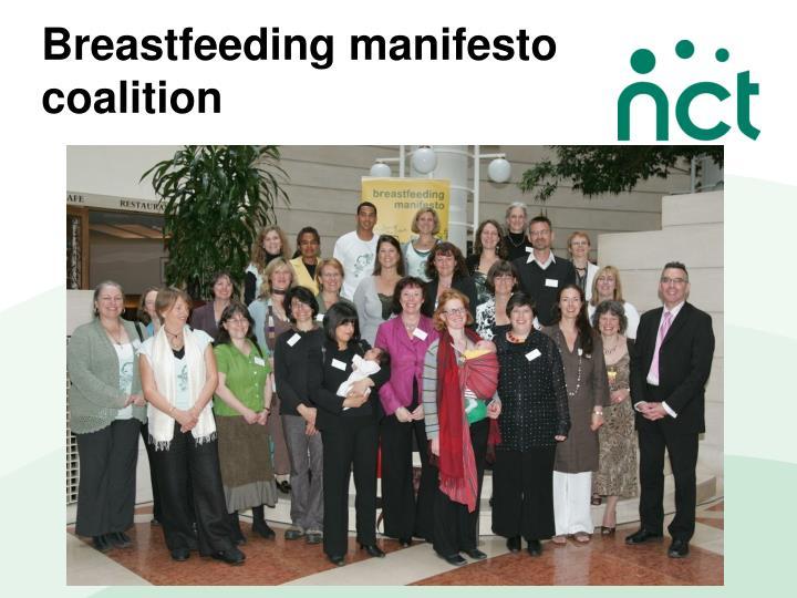 Breastfeeding manifesto coalition
