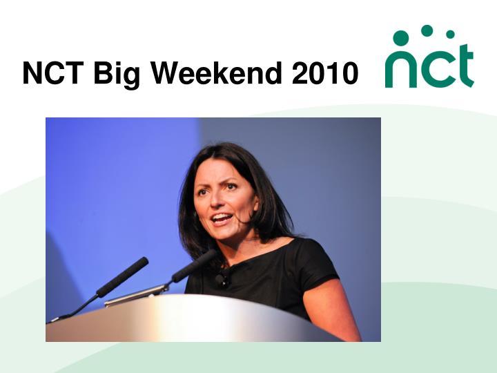 NCT Big Weekend 2010