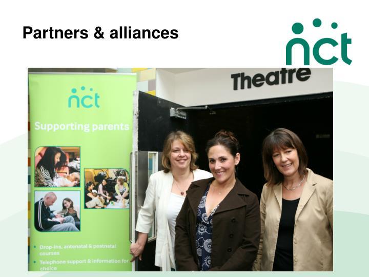 Partners & alliances