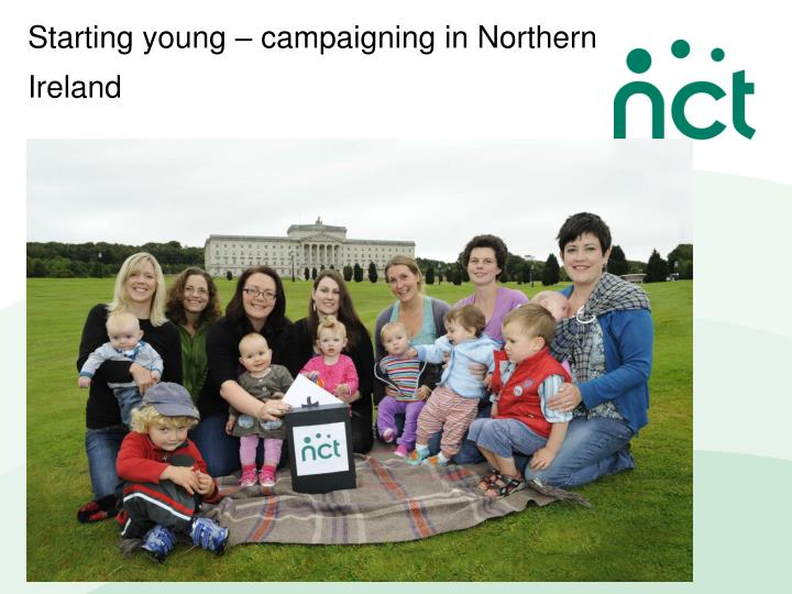 Starting young – campaigning in Northern Ireland