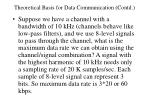 theoretical basis for data communication contd5