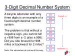 3 digit decimal number system