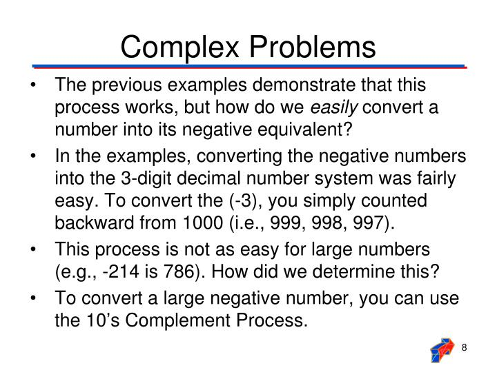 Complex Problems