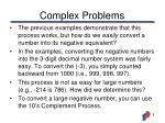 complex problems