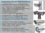 explosion proof ptz products