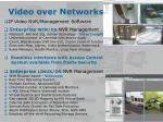 video over networks