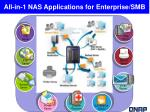 all in 1 nas applications for enterprise smb