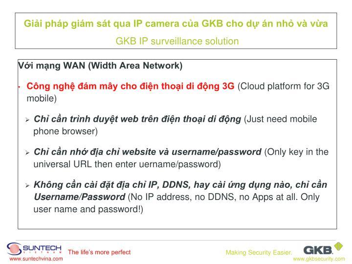 Với mạng WAN (Width Area Network)