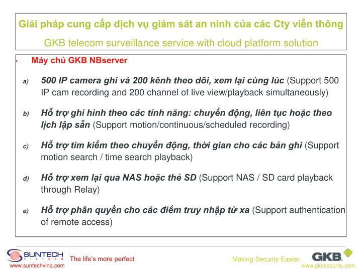 Máy chủ GKB NBserver