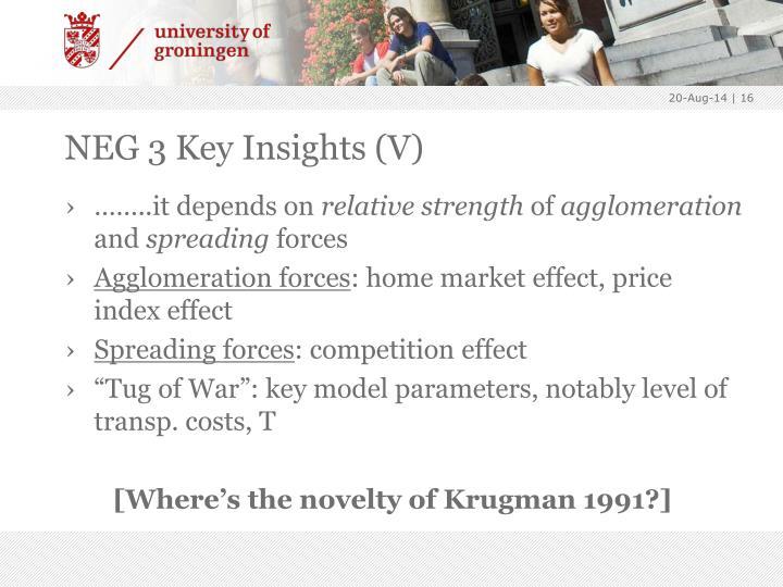 NEG 3 Key Insights (V)