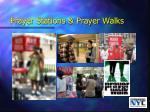 prayer stations prayer walks