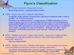 flynn s classification
