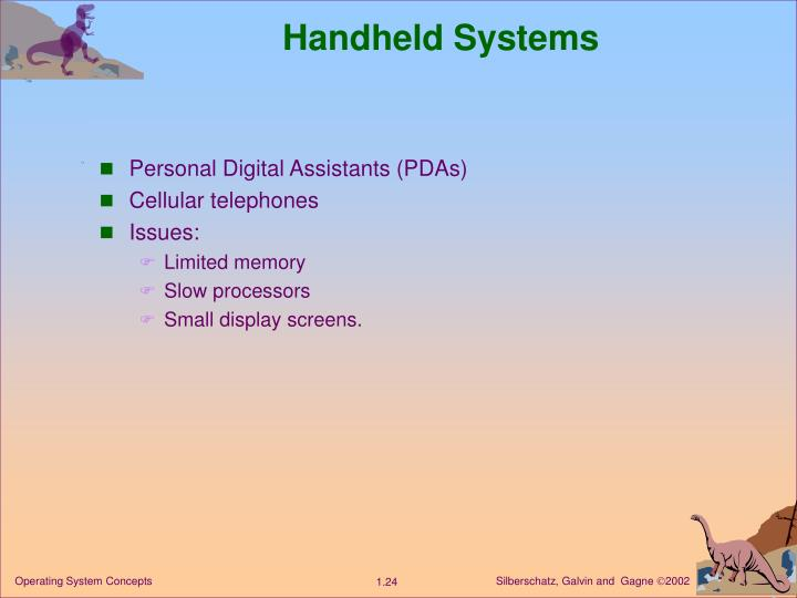 Handheld Systems