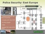 police security east europe